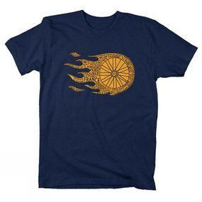 Flaming Wheel T-Shirt